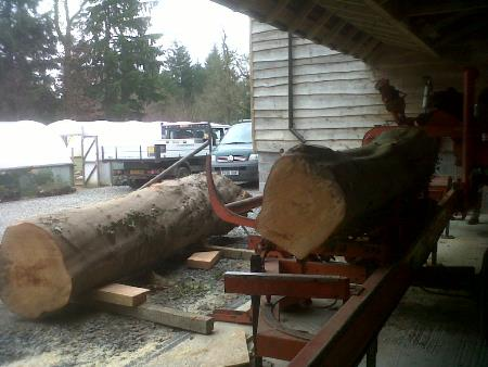 Mobile sawmill and timber yard based in Builth Wells covering Mid Wales and the borders.