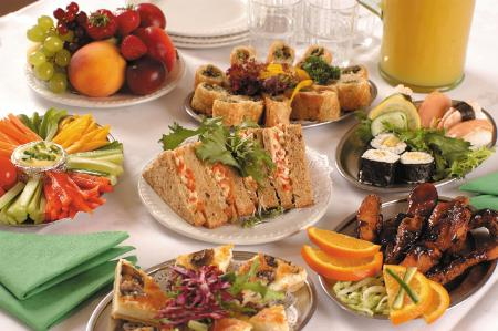 Buffet lunch is provide for your conference.