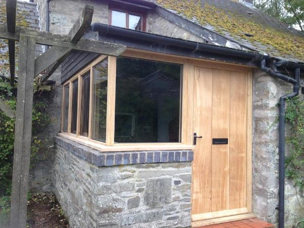 Oak Joinery From Builth Wells Powys